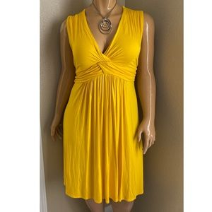 Monroe & Main Yellow Dress